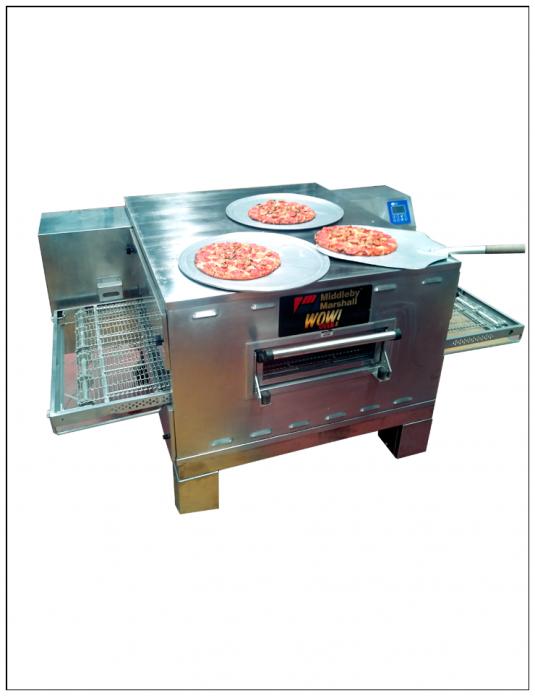 horno de banda para pizza